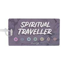 Novelty Luggage Tags - Spiritual Traveller - Chakra
