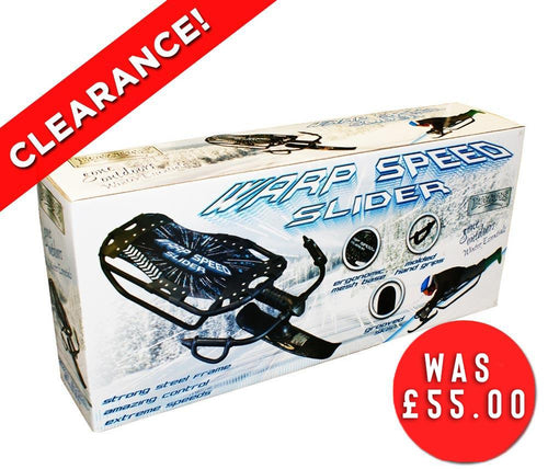 Warp Speed Sports Slider Snow Sledge
