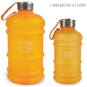 2L Drinks Hydration Water Bottle - Orange