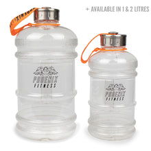 2.2L Drinks Hydration Water Bottle - Clear