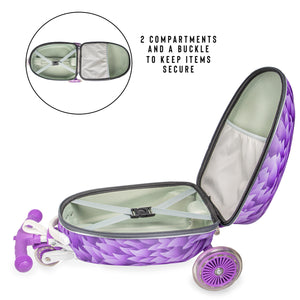 Monster Scuit Case (Purple)