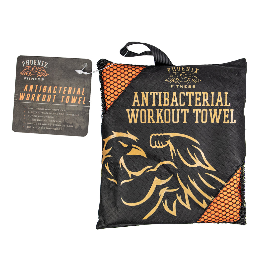 Antibacterial Microfiber Workout Gym Towel (Small)