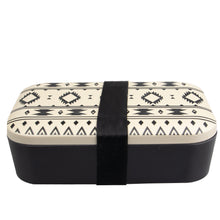 Bamboo Eco-Friendly Lunch Box - Aztec