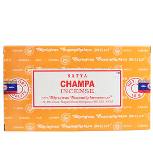 Champa - Satya Incense Sticks 15g
