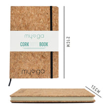 Lined Notebook Journal with Cork Cover