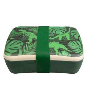 Bamboo Eco Lunch Box - Jurassic Jungle