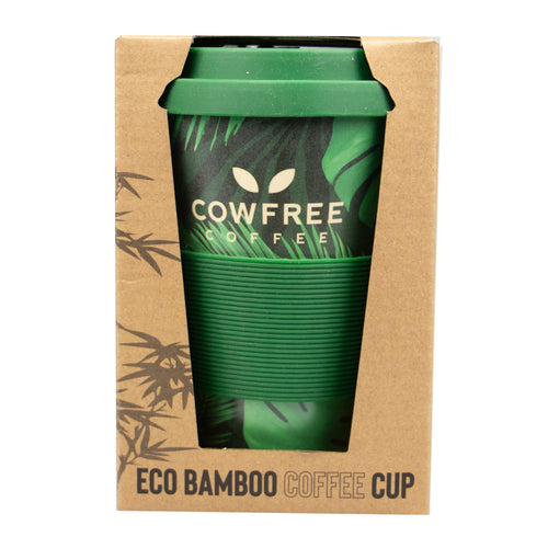 Eco Bamboo Coffee / Travel Mug - Palm Tree