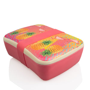 Bamboo Eco Lunch Box - Tropical