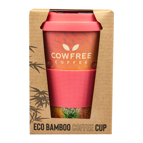 Eco Bamboo Coffee / Travel Mug - Tropical