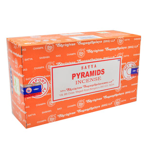 Pyramids - Satya Incense Sticks 15g