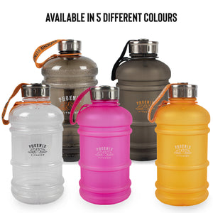 1L Drinks Hydration Water Bottle - Black