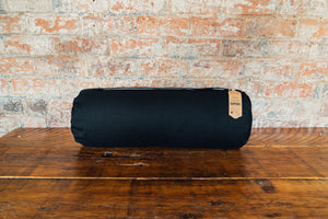 Myga Yoga Support Bolster Pillow - Black