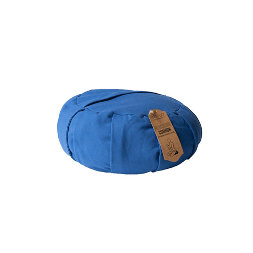 Zafu Yoga Meditation Cushion Blue
