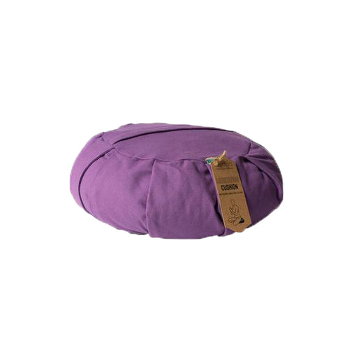 Zafu Yoga Meditation Cushion Plum