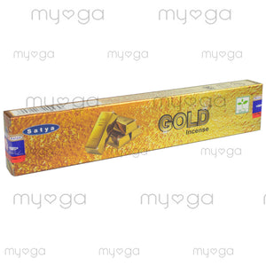 Gold - Satya Incense Sticks 15g