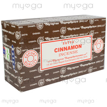 Cinnamon - Satya Incense Sticks 15g