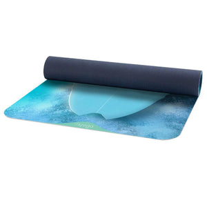 Pro Printed Yoga Mat - Surfboard