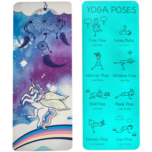 Kid's Printed Yoga Mat - Sweet Dreams