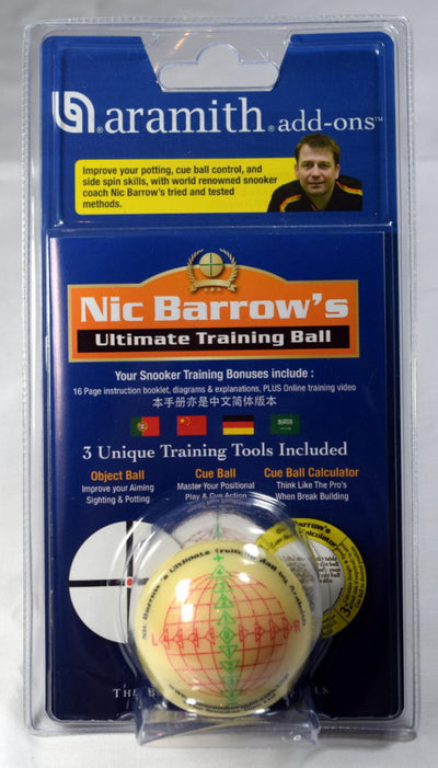 Ball Nic Barrow´s Ultimate Training