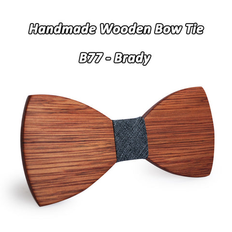 Wooden Bow Tie