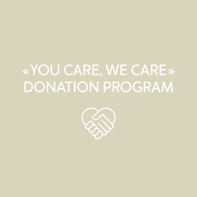 """You Care, We Care"" Donation Program"
