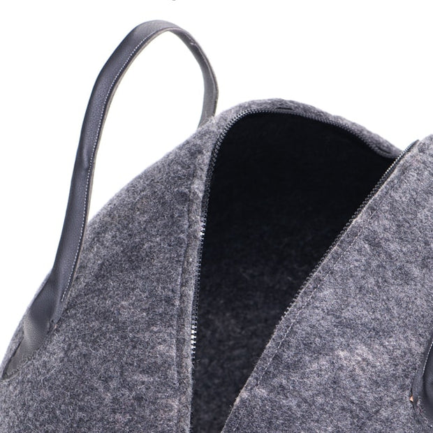Wool Bag - Grey Bagbuk