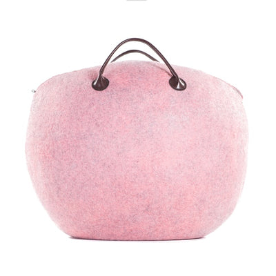 Wool Bag - Pink Bagbuk
