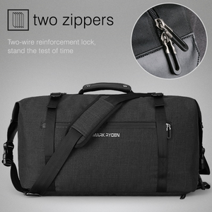 Water Resistant Travel Bag with High Capacity (2 Colors)