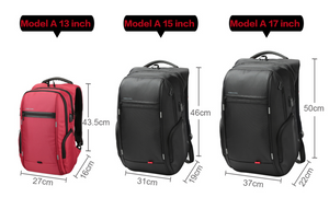 Kingsons Anti theft Backpack for 13inch, 15 inch and 17inch Laptops - Gadget Backpack