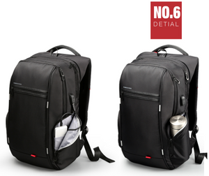 Kingsons Anti theft Backpack for 13inch, 15 inch and 17inch Laptops