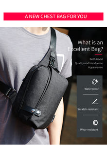 Casual Crossbody Bags with large capacity - Gadget Backpack