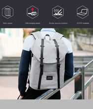Unisex Backpack for 15inches laptop with USB Charging port - Gadget Backpack