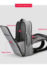 Luggage Backpack, Huge Capacity Waterproof Laptop Backpack with USB charging port (17 inch and 15 inch)  - NEW - Gadget Backpack