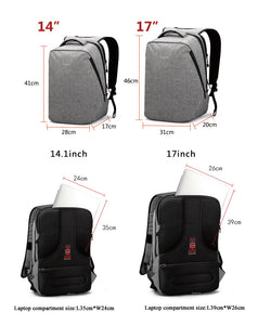 "Tigernu Urban Backpack for 14""- 17"" laptops (3 colors) - Gadget Backpack"