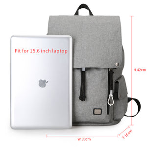 Trendy Backpack with Large Capacity and USB charging port (15.6 inch) - Gadget Backpack