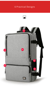 High Capacity, Anti-thief Travel Backpack for 17 inch Laptop - Gadget Backpack