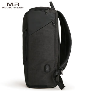 Mark Ryden High Capacity Travel Backpack for 17.3 Inches Laptop - 180° Opening way - Gadget Backpack