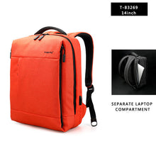 Tigernu Business Backpack with USB charging port (14inch and 15.6inch Laptop) 3 colors - Gadget Backpack