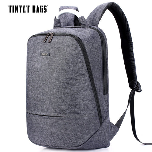 Canvas Backpack for 15.6 inch Laptop Backpack - Gadget Backpack
