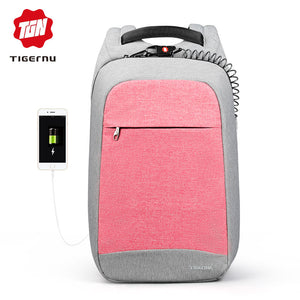 Tigernu Anti-theft Laptop Backpack for Women (15.6 inch)