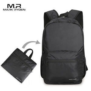 Men Folding Festival Backpack - Water Repellent - Gadget Backpack