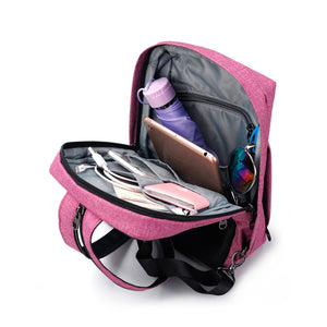 Tigernu Mini Pink Crossbody Bag and Backpack - Gadget Backpack