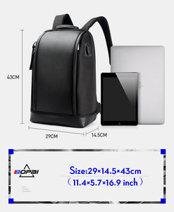 BOPAI Shell Shape Business Backpack (15.6 inch) - Gadget Backpack