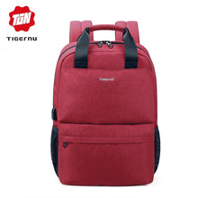 Tigernu Student Backpack (Red and Black) - Gadget Backpack