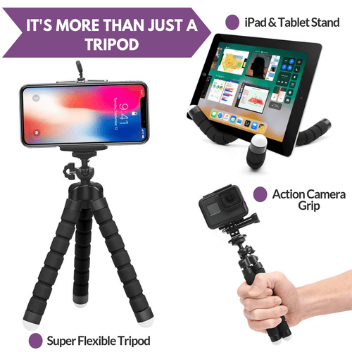 Flexible Mini Octopus Tripod