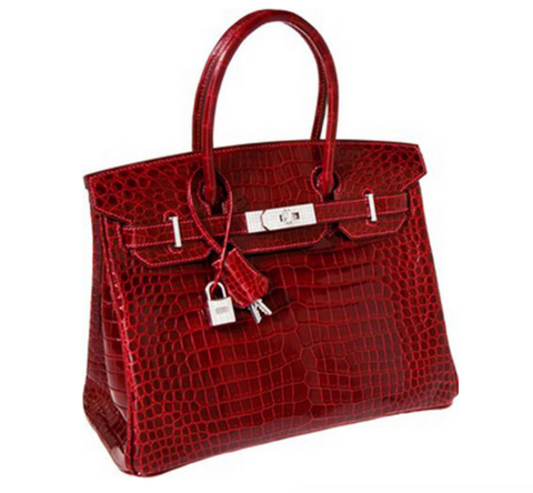 4c3246409aed This red-colored Birkin Bag broke records several years ago for being the most  expensive handbag sold at public auction, with an anonymous collector  winning ...