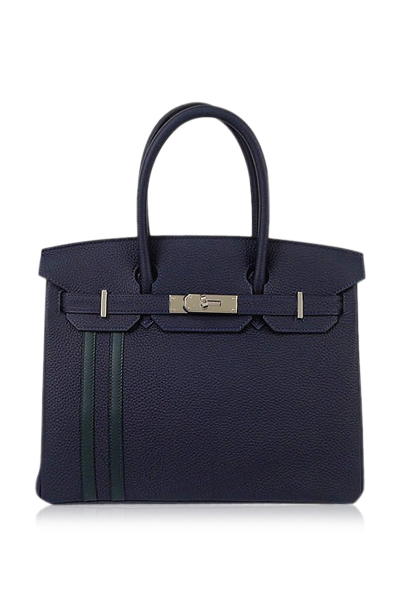 fdcc6d3a9a88 Birkin 25 Officier Blue Nuit   Vert Cypress Togo Phw – Luxury From ...