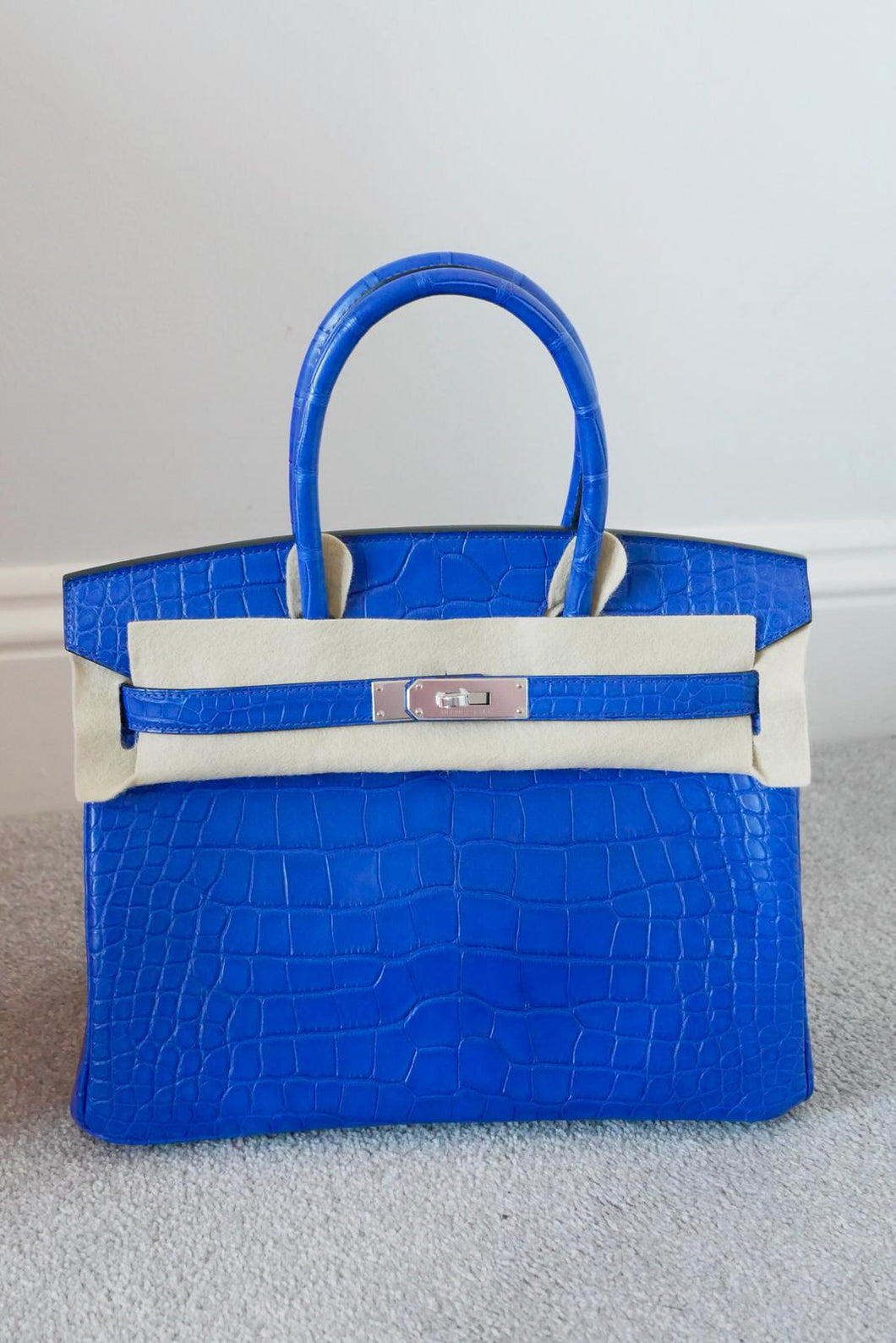 Birkin 30 Blue electric alligator phw – Luxury From London ba1a2210b