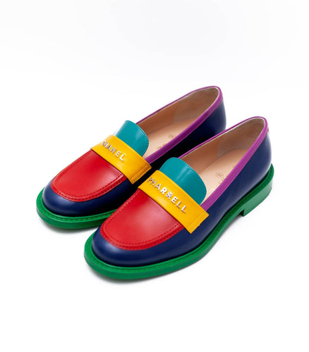 Chanel x Pharrell Capsule Collection Multicolor Loafers