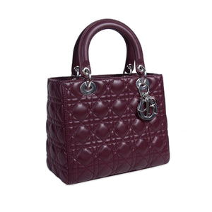 Christian Dior Medium Lady Dior Bag – Luxury From London 5d093de821512